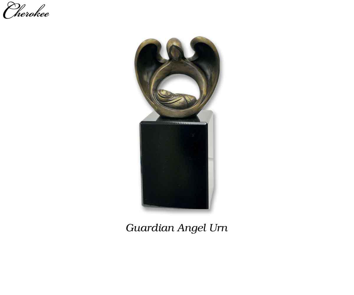 Guardian Angel Urn - Cherokee Child Caskets & Supplies